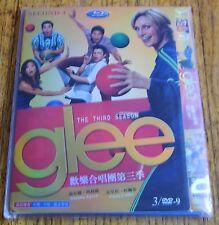 Glee The Third Season Chinese import BluRay 3 DVD-9 1080P