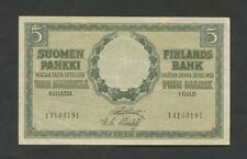 More details for finland  5 mark  1918  p36  vf-ef  world paper money