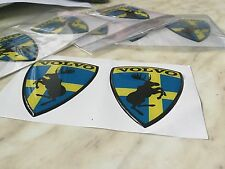Volvo sticker, Badge, Pair, 3D Gell