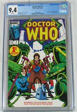 Doctor Who #1 CGC 9.4 1984 White Pages Marvel Comics 3738098006