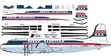 Reeve Aleutian Douglas DC-4 C-54 airliner decals for Minicraft 1/144 kits