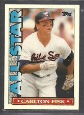 1990 Topps Glossy All Star Team - #8 - Carlton Fisk - Chicago White Sox
