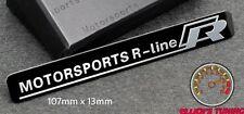 VOLKSWAGEN R Line Motorsport BADGE EMBLEMA VW Golf 5 GTI VR6 R32 MK 2 3 4 5 TDI