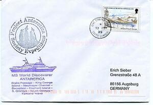 World Discoverer King Edward South Georgia Drake Passage Polar Antarctic Cover