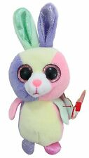 """Ty Basket Beanies Bloom the Easter Bunny 4"""" Tall"""