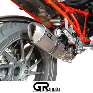 Exhaust for BMW R1200 R / RS  2015 - 2019 GRmoto Muffler Titanium