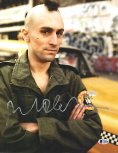 "Robert De Niro Autographed 11"" x 14"" Taxi Driver Photograph Beckett BAS COA"