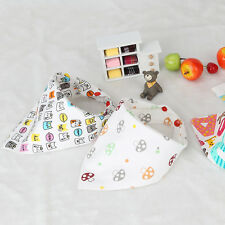 Cute Newborn Baby Bibs Waterproof Bibs Burp Cloth For Girls & Boys Scarf