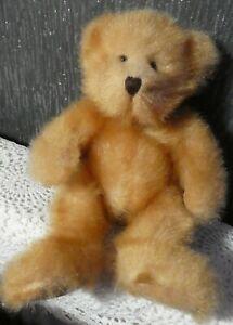 VINTAGE STYLE HARD BEANIE PLUSH TEDDY BEAR NAMED PENNINGTON RUSS BERRIE HANDMADE