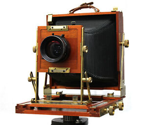 Zone IV 8x10 Large Format Field Camera and fitted with Beattie Screen. USA Made