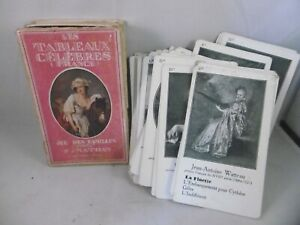 Antique playing cards 17th-19thC famous French families Fernand Nathan complete