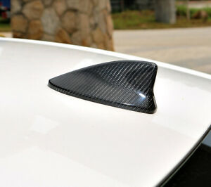 1PCS Real Carbon Fiber Roof Shark Fin Antenna Cover For 15-20 GSF GS350 GS450h