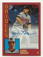 2019 Topps Update JOHN MEANS 1984 Topps Auto RED 09/25 Autograph Orioles Rookie