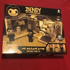 Bendy and the Ink Machine Room Scene Construction Set 259 PCS Meatly Games NEW