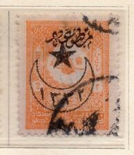 Turkey 1916 Early Issue Fine Used Star & Moon Optd 2p. 009685