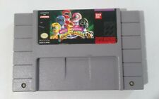 Mighty Morphin Power Rangers Super Nintendo SNES Game Only
