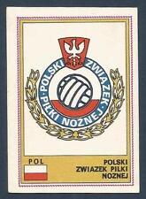 PANINI EURO 77 #224-POLAND-POLSKI-TEAM BADGE