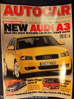 AUTOCAR Magazine 5th February 2003 Audi A3