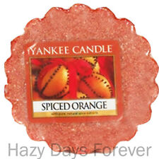 YANKEE CANDLE SCENTED WAX TART MELT Spiced Orange BUY 10+ GET FREE P&P