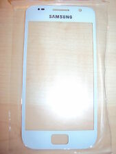 Für Samsung Galaxy S i9000 Display Front Glas Glass Scheibe Displayglas weiß NEU