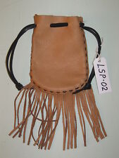 LP-02 BEIGE SIOUX PURSE FREE SHIPPING WITHIN THE USA