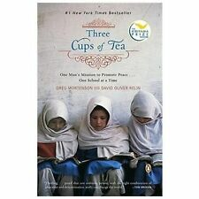 Three Cups of Tea by David Oliver Relin and Sarah Thomson (2007, Paperback)