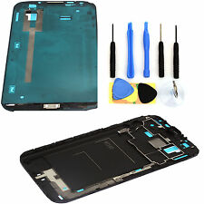Cover Case Front Housing Frame Bezel Middle Frame For GALAXY Note2 N7100+9Tool