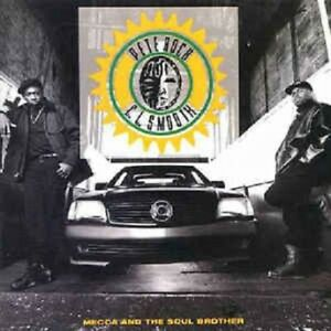 PETE ROCK & C. L. SMOOTH - MECCA AND THE SOUL BROTHER - 2 LP VINYL ALBUM