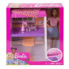 Mattel Puppe Barbie Deluxe Set Möbel Loft Bed OVP