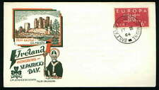 TRIM Castle St Patrick's Day Scarce Ireland Staehle Cachet FDC 1964 (IR8
