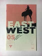 EAST OF WEST 5 SIGNED BY JONATHAN HICKMAN SDCC IMAGE NYCC IMAGE AVENGERS