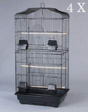 """Lot of 4 of 35"""" Large Dome Top Canary Parakeet LoveBird Aviary Finch Bird Cage"""