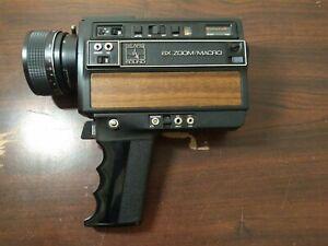 Vintage Sears Sound199/S 6X Zoom Macro Super 8 Film Movie Camera Untested