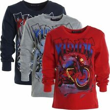 Markenlose Jungen-T-Shirts, - Polos & -Hemden mit Rundhals-Ausschnitt