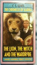 The Chronicles of Narnia - The Lion, the Witch, and the Wardrobe (VHS, 1991) NEW
