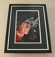 Robert Englund Signed Framed 16x12 Photo Display Freddy Krueger Autograph + COA