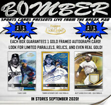 Miami Marlins 2020 Topps Gold Label Baseball 8 Box 1/2 Case Break 4
