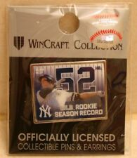 AARON JUDGE #99 MLB ROOKIE SEASON 52 HR RECORD NEW YORK YANKEES COLLECTOR PIN