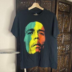 medium mens bob marley zion rootswear tee t-shirt