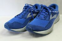 BROOKS mens athletic shoes size 10.5 med.LEVITATE style blue air fabric upper