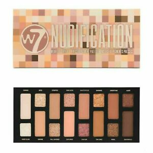 W7 Nudification Pressed Pigment Eyeshadow Palette (NEW)