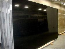 Granit Treppe 15 Stufen inkl. Stellstufen + Sockel / Nero Assoluto 2cm poliert