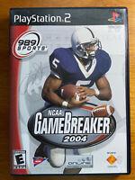 NCAA GameBreaker 2004 (PlayStation 2) PS2 - FAST SHIPPING
