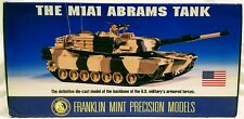 Franklin Mint 1/24 Scale **THE M1A1 ABRAMS TANK DIECAST** Brand New in Box!