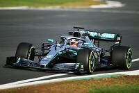 Lewis Hamilton - 2019 Car F1 British Champion Wall Art Poster / Canvas Pictures