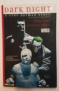 Dark Night A True Batman Story Hardcover Graphic Novel DC Vertigo 2016
