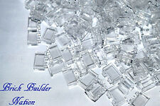 ☀️Lego 1x2 Trans Clear Bricks x100 Translucent Part Piece Bulk Lot Legos #3065