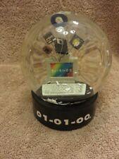 01-01-00 - Y2K Crash Water Globe Memorabilia - At Home International