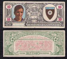 Figurina 10 Calcio Dollari Edizioni Ritmo Caltagirone 1969 DE SISTI Fiorentina