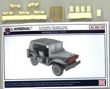 L'Arsenal Models 1/350 DODGE W56 COMMAND CAR (5) Resin Set